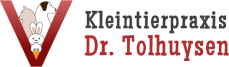 Kleintierpraxis Dr. med. vet. Tolhuysen, 46395 Bocholt Logo